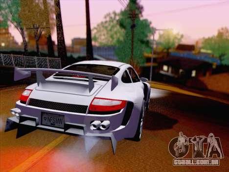 Porsche Carrera S para GTA San Andreas vista direita