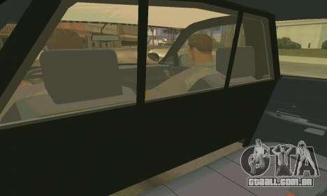 Ford Crown Victoria Police LV para GTA San Andreas interior