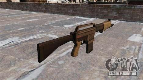 Espingarda Franchi SPAS-15 para GTA 4 segundo screenshot