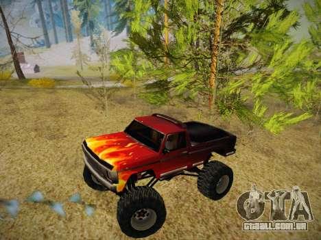 Novas texturas para o monstro (A) para GTA San Andreas