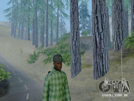 O membro da gangue Grove Street de GTA 5 para GTA San Andreas quinto tela
