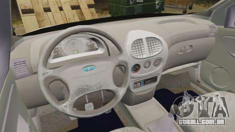 Vaz-1119 Lada Kalina para GTA 4 vista de volta