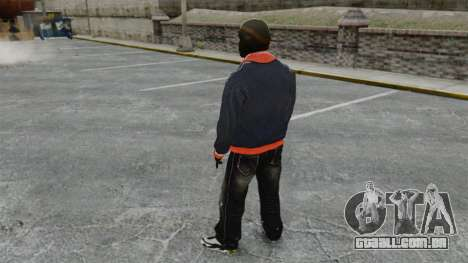 Franklin Clinton v2 para GTA 4 terceira tela