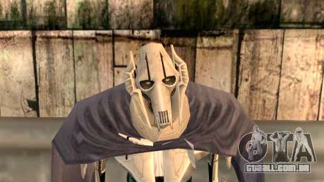 General Grievous para GTA San Andreas terceira tela