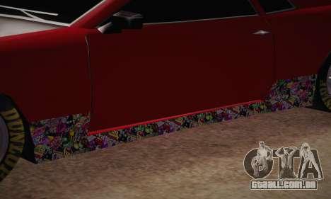 Elegy Frankinshtain para GTA San Andreas vista interior