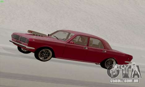 GAZ Volga 2410 Hot Road para GTA San Andreas esquerda vista