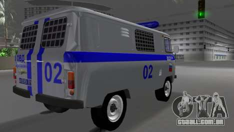UAZ-3741 AUMONT para GTA Vice City deixou vista