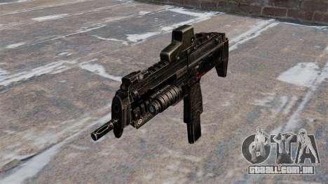 Submetralhadora MP7 para GTA 4