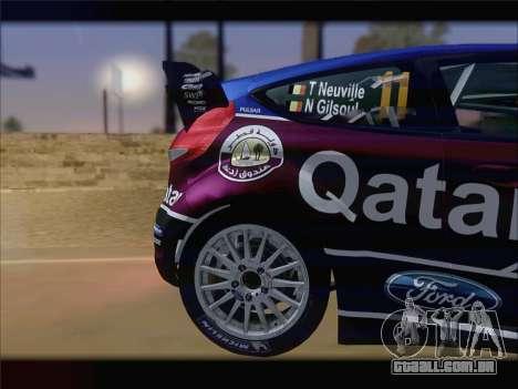 Ford Fiesta RS WRC 2013 para GTA San Andreas vista direita