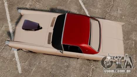 Peyote 1950 para GTA 4 vista direita