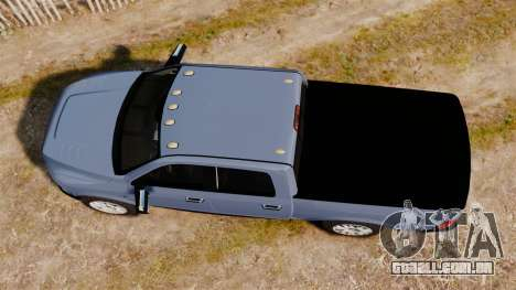 Dodge Ram 2010 para GTA 4 vista direita