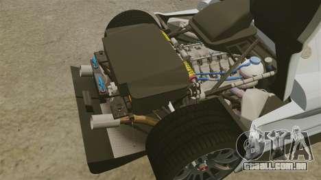 Gumpert Apollo S 2011 para GTA 4 vista lateral