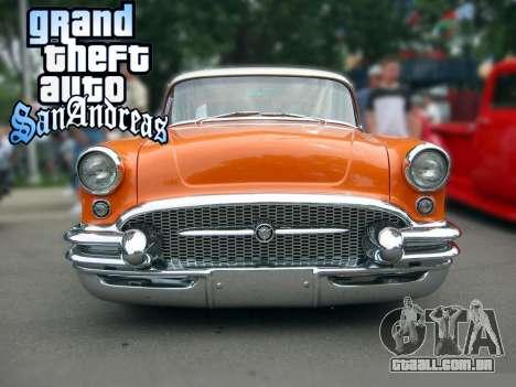 New loadscreen Old Cars para GTA San Andreas quinto tela
