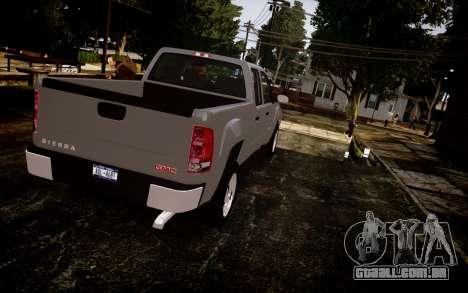 GMC Sierra 2500HD 2010 para GTA 4 esquerda vista