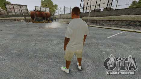 Franklin Clinton v3 para GTA 4 terceira tela