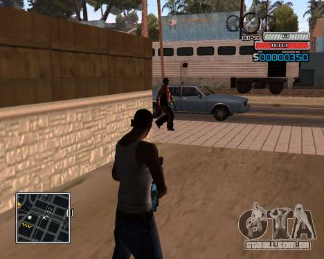 (C) HUD-por Wh_SkyLine para GTA San Andreas segunda tela
