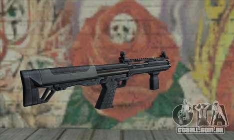 KSG12 para GTA San Andreas segunda tela