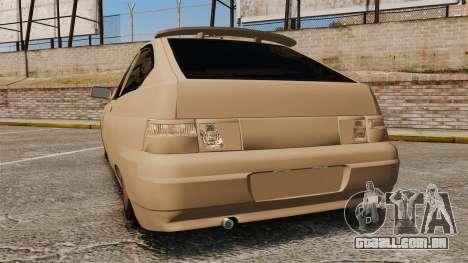 VAZ-2112 híbrido para GTA 4 traseira esquerda vista