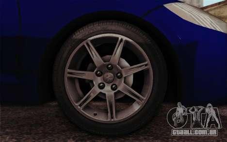 Mitsubishi Eclipse GT v2 para GTA San Andreas traseira esquerda vista