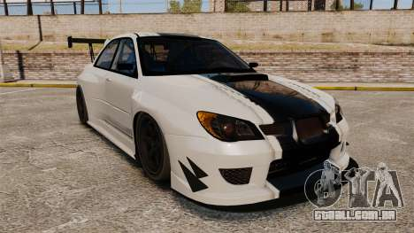 Subaru Impreza v2.0 para GTA 4