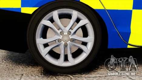 Audi S4 Police [ELS] para GTA 4 vista de volta