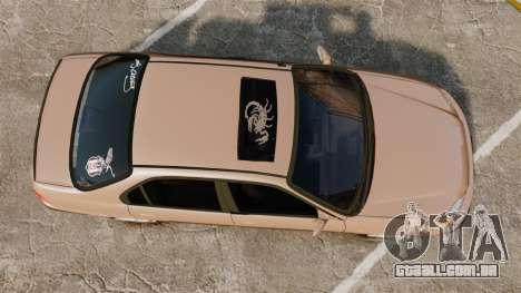 Honda Civic para GTA 4 vista direita