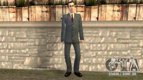 JI-homem de Half-Life 2 para GTA San Andreas