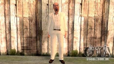 Joseph Clarence para GTA San Andreas