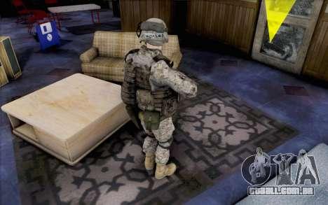 David Montes para GTA San Andreas segunda tela