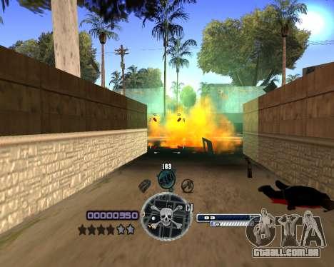 C-HUD by Niko para GTA San Andreas terceira tela