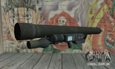 ATGM Launcher para GTA San Andreas