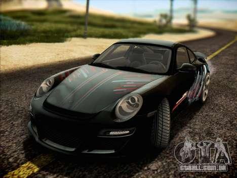 RUF RT12S para GTA San Andreas interior
