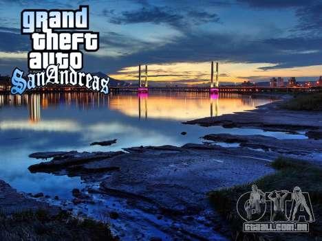 Loadscreens New-York para GTA San Andreas twelth tela