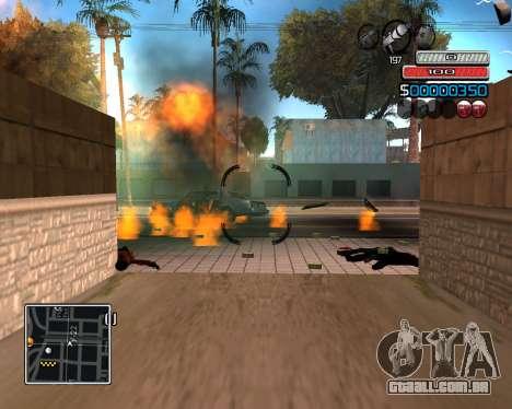 (C) HUD-por Wh_SkyLine para GTA San Andreas terceira tela