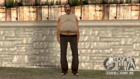 Umberto Robina para GTA San Andreas