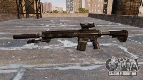HK417 rifle para GTA 4 terceira tela