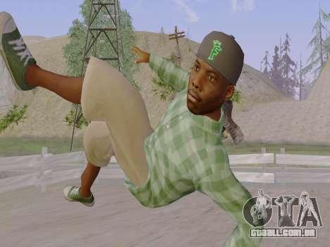 O membro da gangue Grove Street de GTA 5 para GTA San Andreas sétima tela