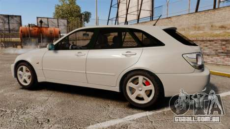 Toyota Altezza Gita para GTA 4 esquerda vista