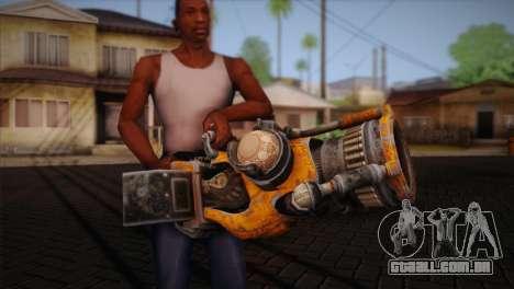 Espingarda de Bulletstorm para GTA San Andreas terceira tela