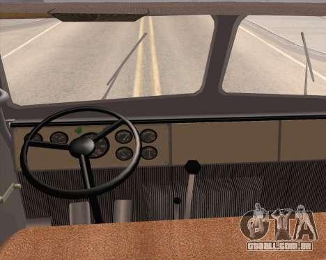 MAZ 5431 para GTA San Andreas vista direita