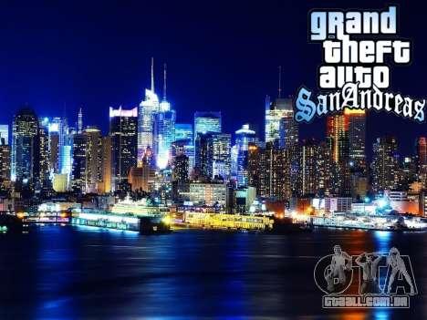 Loadscreens New-York para GTA San Andreas nono tela