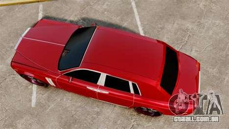 Rolls-Royce Phantom Mansory para GTA 4 vista direita