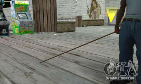 New Pool Cue para GTA San Andreas terceira tela