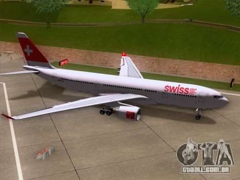 Airbus A330-223 Swiss International Airlines para o motor de GTA San Andreas
