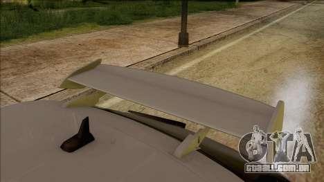 Audi S3 para GTA San Andreas vista traseira