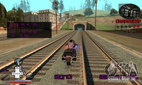 OFWGKTA P-HUD para GTA San Andreas