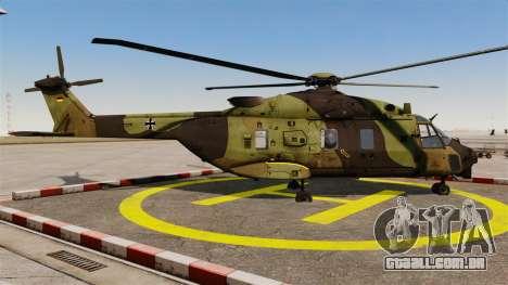 Eurocopter NHIndustries NH90 [EPM] para GTA 4 esquerda vista