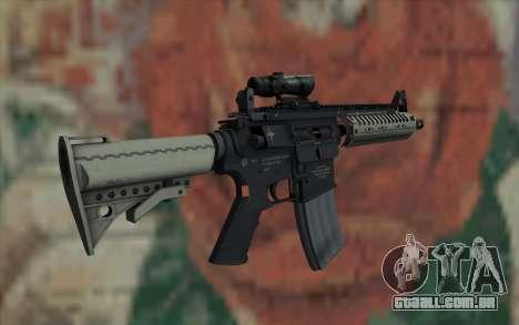 VLTOR SBR 5.56 ACOG Sight para GTA San Andreas segunda tela
