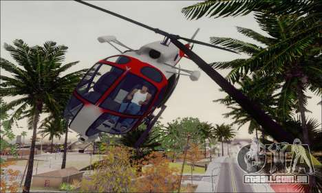 GTA V Ambulacia Maverick para vista lateral GTA San Andreas