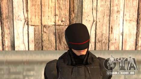 Robocop 2014 Movie Version para GTA San Andreas terceira tela